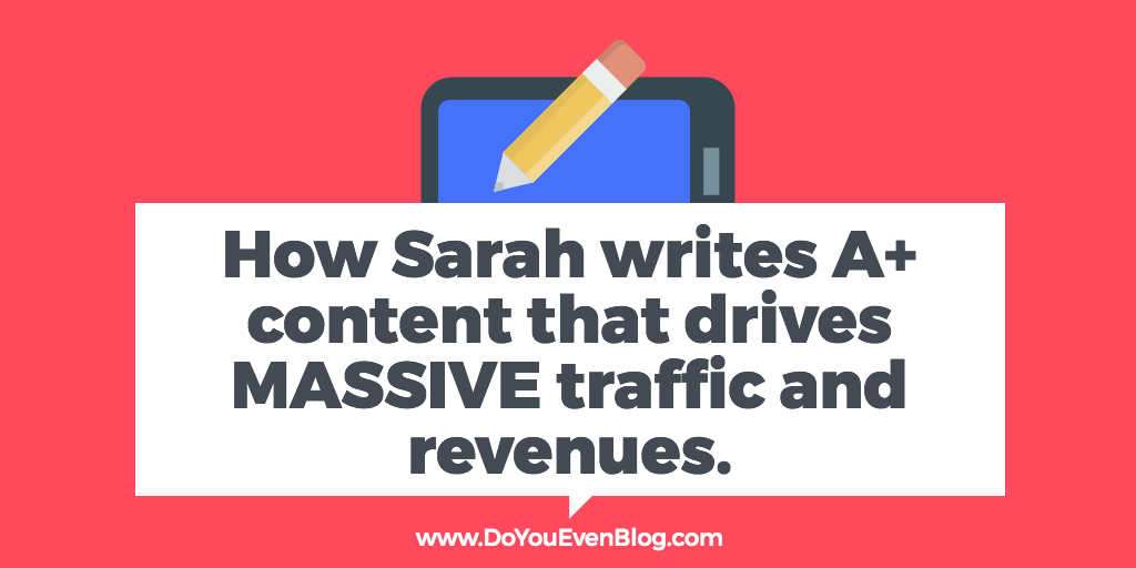 How to crank out content that drives massive traffic and fans – Sarah Peterson