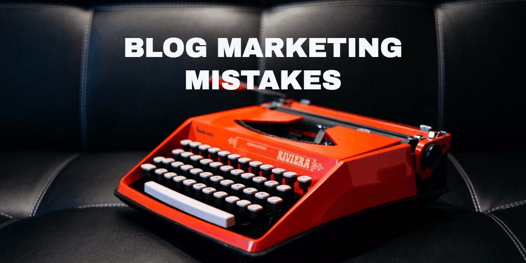 4 huge mistakes newbies make when marketing their blogs