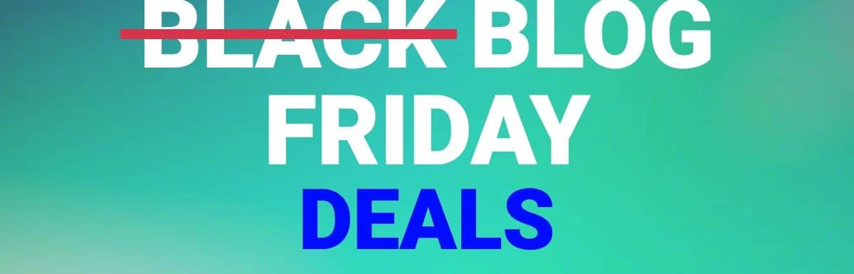 A Mega-List of Blogging Black Friday and Cyber Monday Deals