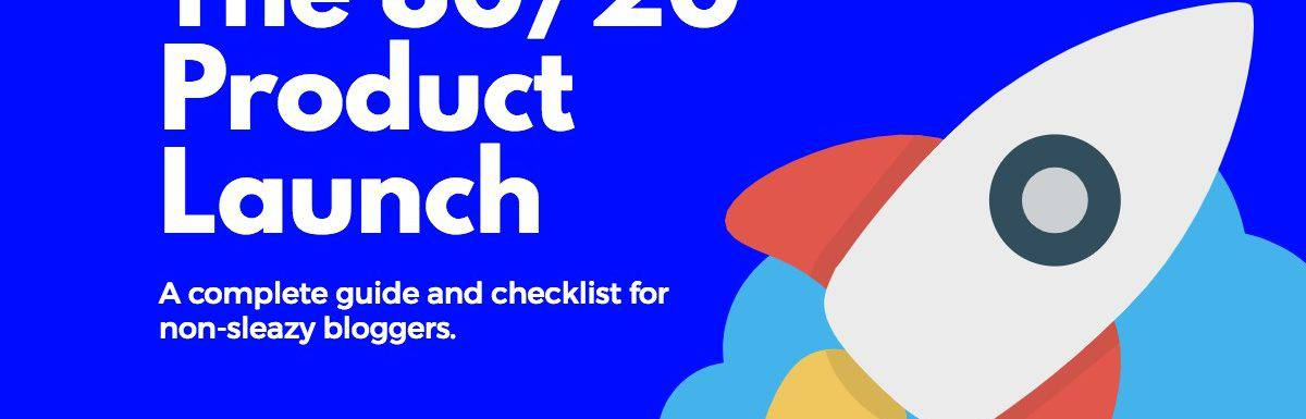 An 80/20 Info Product Launch Checklist [+ case study]