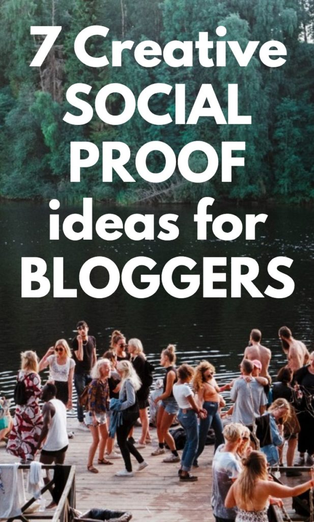Sweet social proof ideas for bloggers!