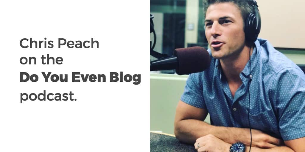 Why quality reigns supreme in blogging – Chris from Money Peach