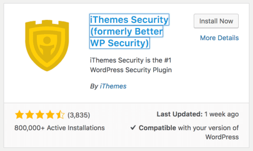 ithemes security pro plugin