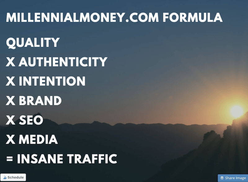insane blog traffic formula