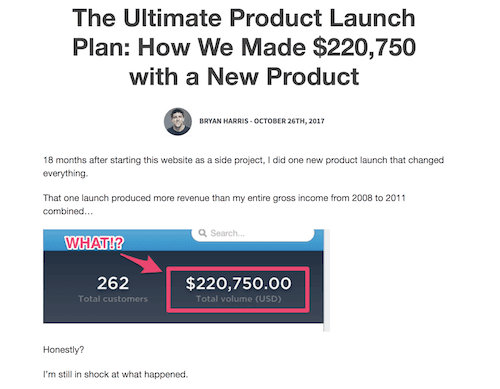 bryan harris online course product launch