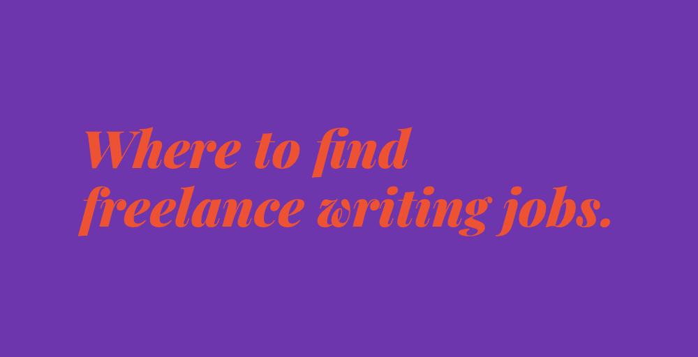 FQF: Where can I find freelance writing jobs? (and other blogging work)