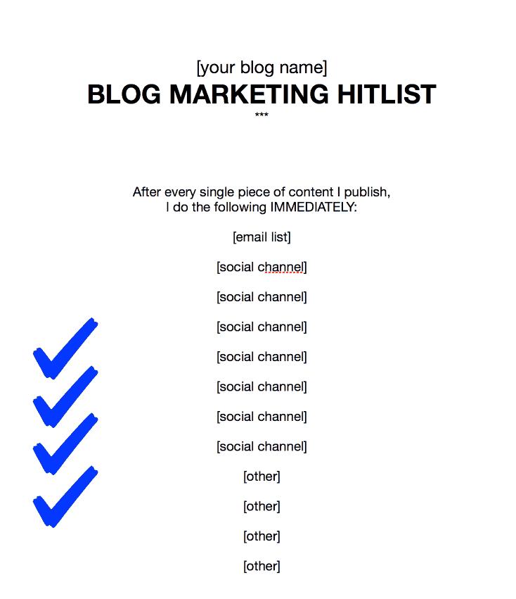 marketing hitlist