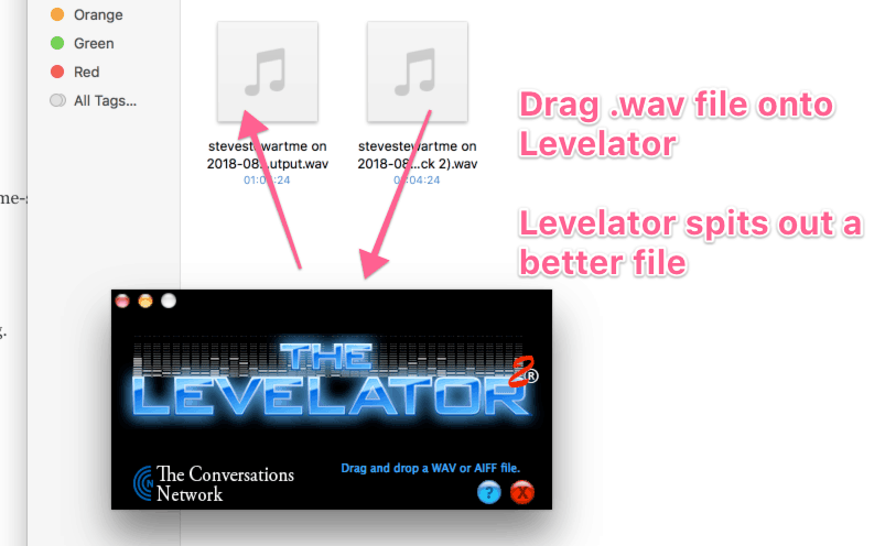 levelator podcast