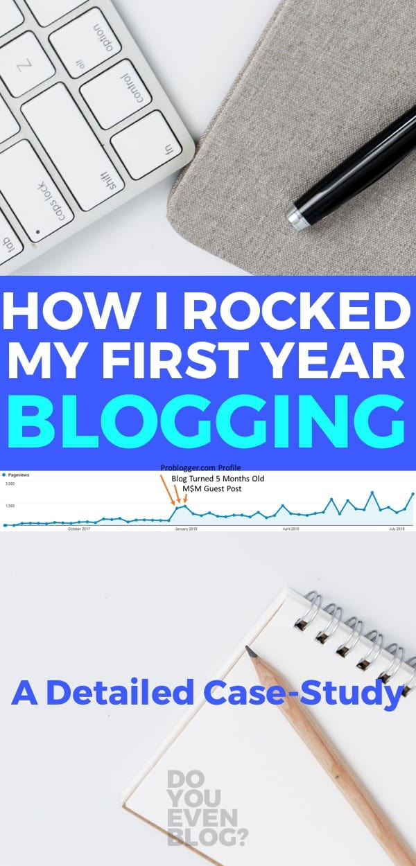 first year blogging good life better