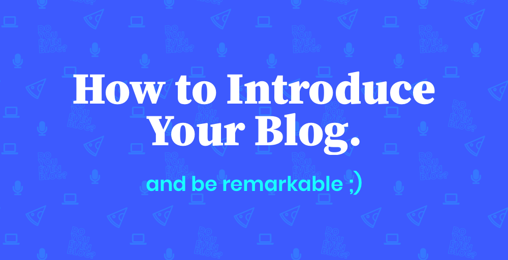Influencer Status: How to Introduce Your Blog & Be Remarkable (at Events)