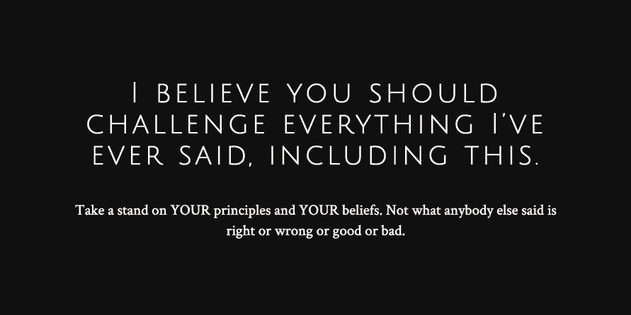 believe in blogging ending