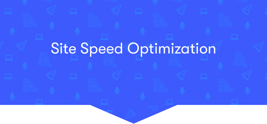 site speed optimization tools