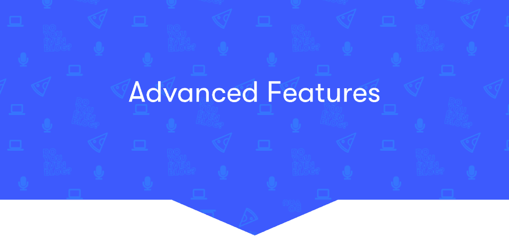 advanced elementor features