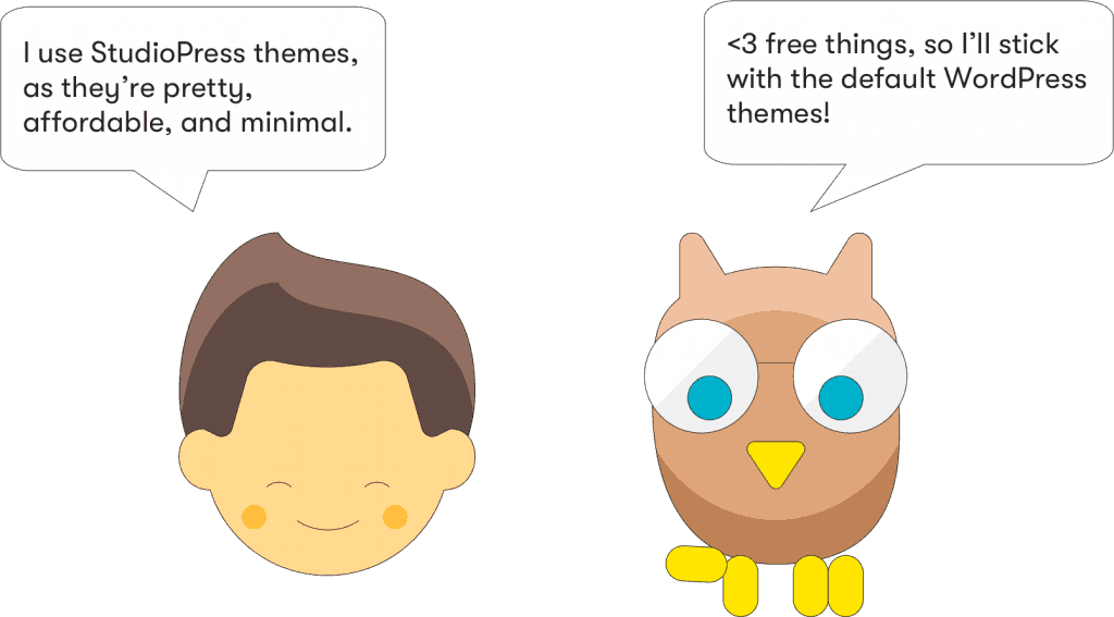 which wordpress themes free or paid